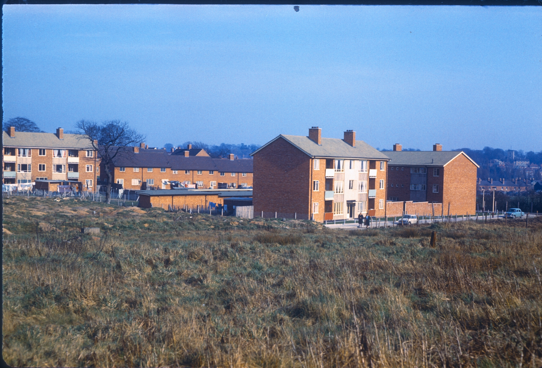 Harborne Metchley Lane. Peartree Cottages. 3rd December 1966