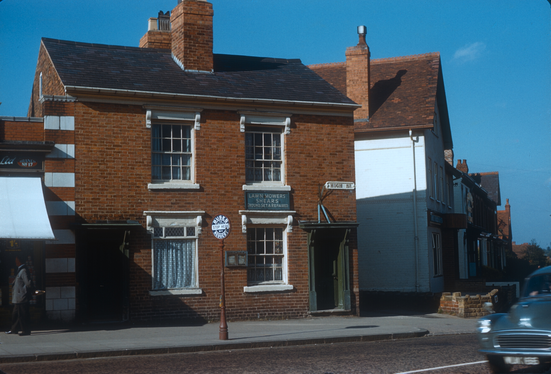 Harborne, No 277 & 275 High Street. 17th August 1961