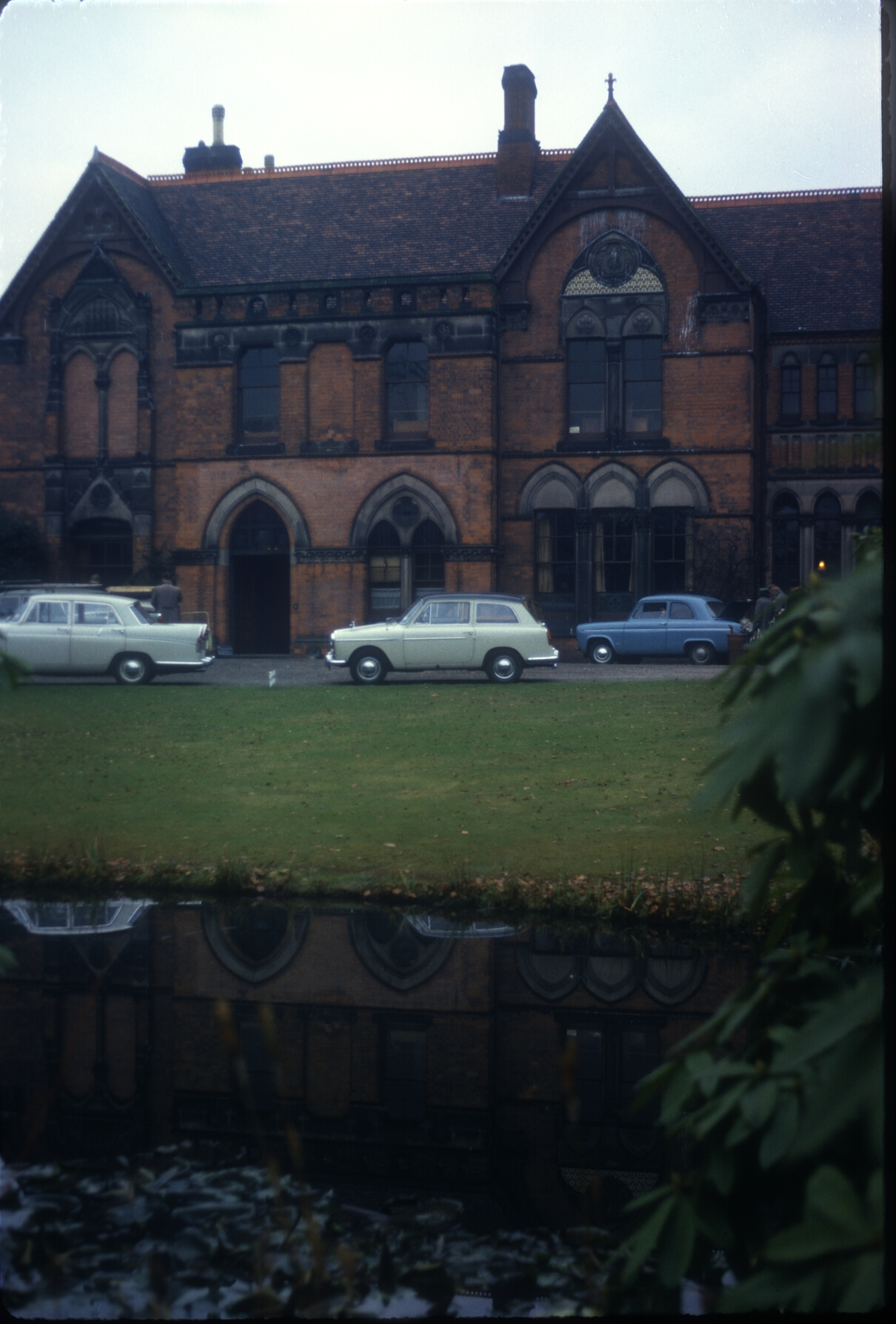 Harborne, The Grove - Home of the late W.Byng Kenrick. 29th November 1962