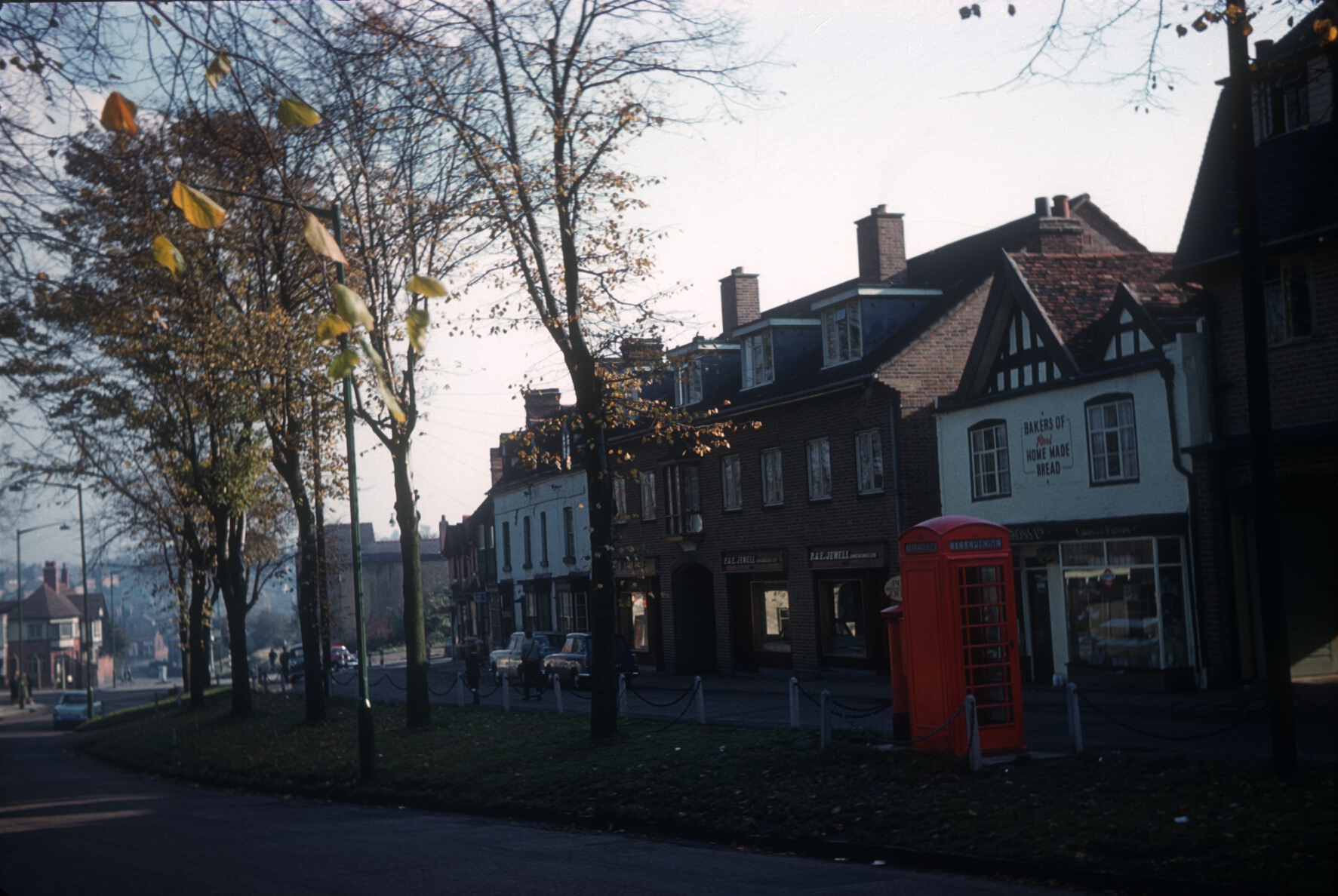 Kings Norton Green and Shops. November 1961