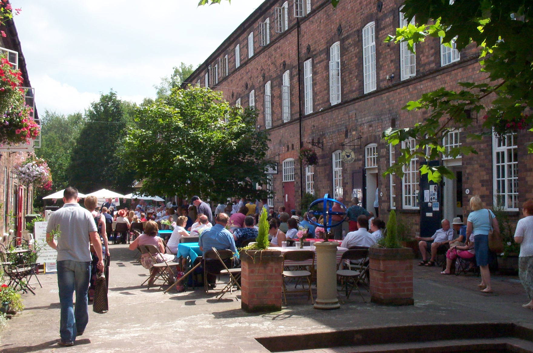 Enjoy a 'Night on the Tiles' at Maws Craft Centre on 21st September as part of the Ironbridge Gorge World Heritage Festival.JPG