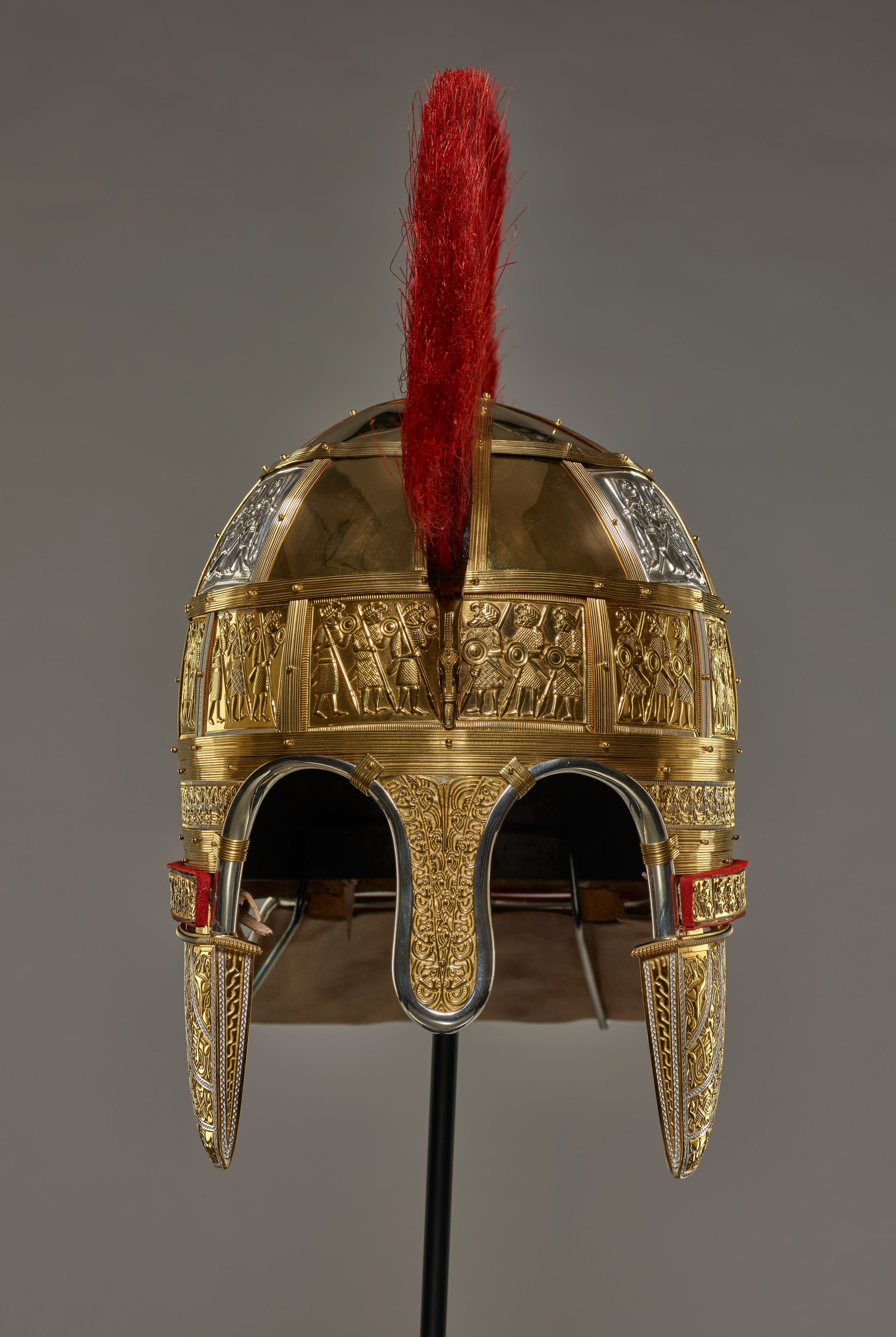 LOW RES Embargoed until 23-11-18 Staffordshire Hoard helmet reconstruction © Birmingham Museums Trust.jpg