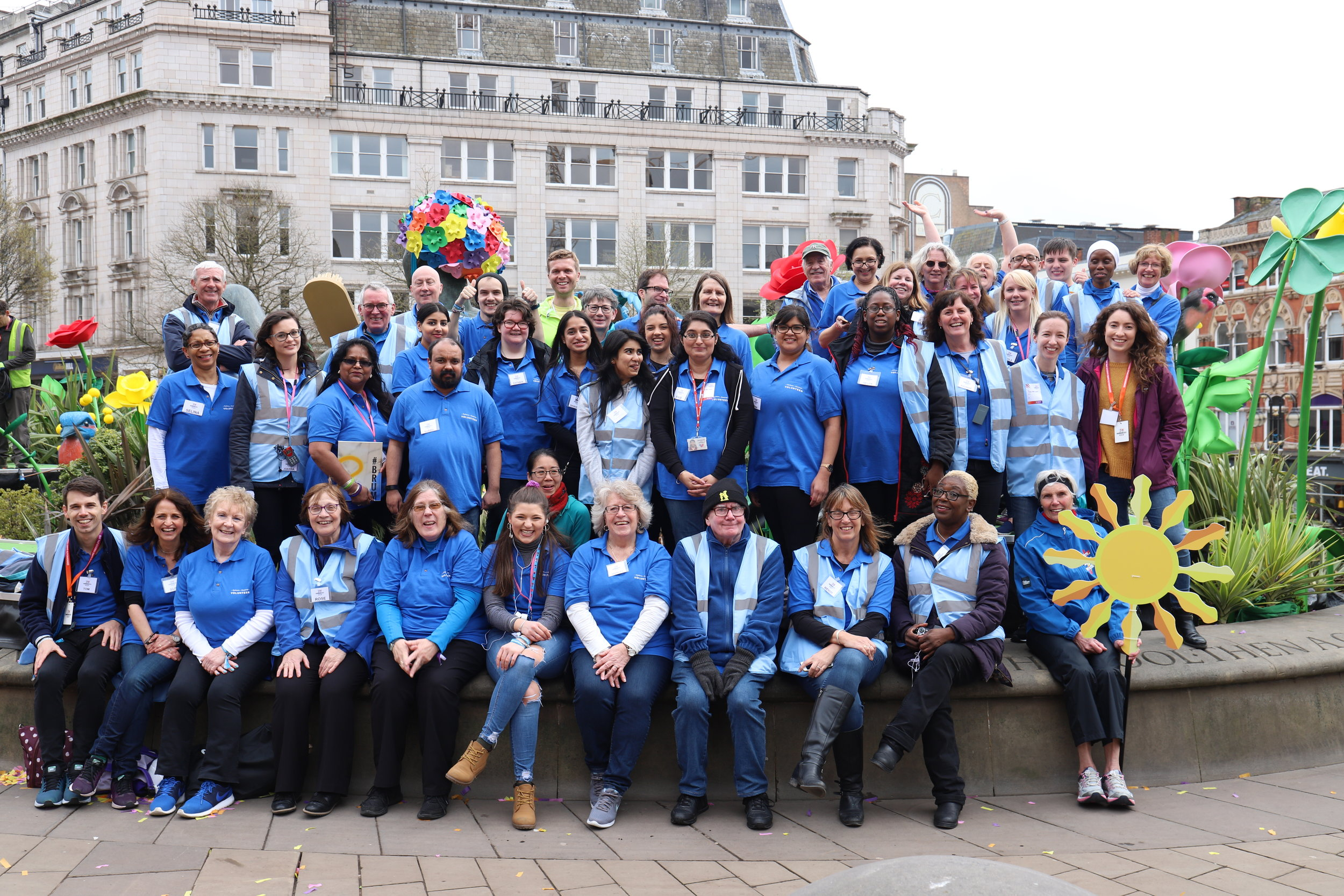 Birmingham Arts Volunteers at Commonwealth Games 2022 Handover.JPG