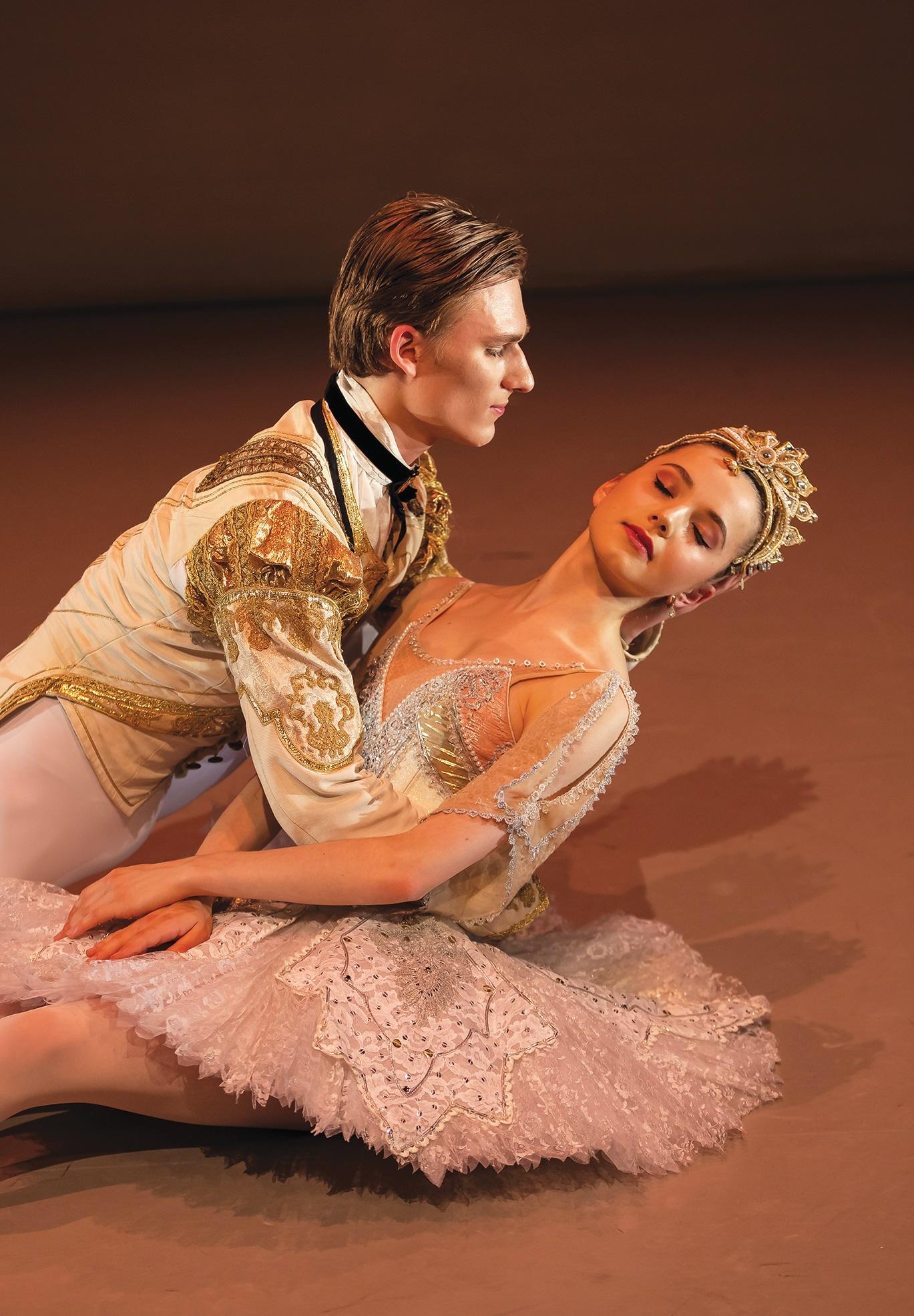 Elmhurst Ballet School - Ryan Felix and Francesca Hardwick in 'The Sleepinng Beauty' excerpt. Photography Andreew Ross.jpg