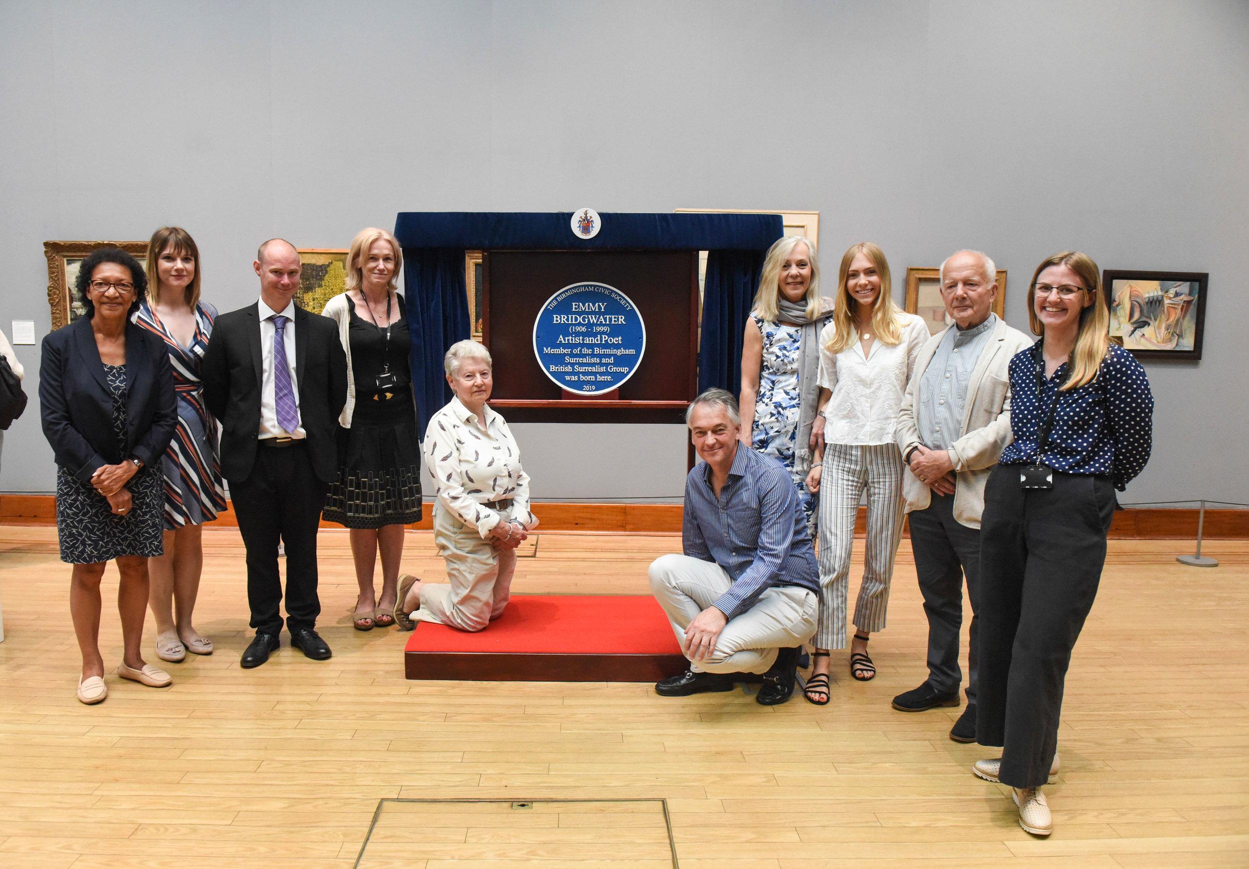 Emmy Bridgwater blue plaque reveal by Anne-Marie Hayes 1.jpg