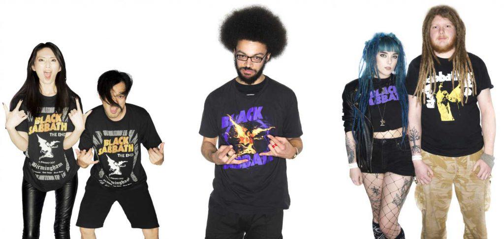 Yurika & Yoshinari (Japan), Ben Whitehouse, Lauren Wynn & Robin Courtney (UK) - Home of Metal International Fans Portrait Collection at Birmingham City University.jpg