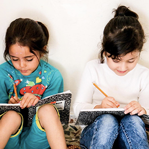 SYRIAN REFUGEE SCHOOL SUPPLIES  Suggested Gift: $25  $25 provides school supplies for  children , including notebooks, pencils, backpacks, and more.