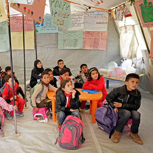 SYRIAN REFUGEE SCHOOL BUILDING  Suggested Gift: $100   $100 will help towards the $10,000 we are raising to  build a school .