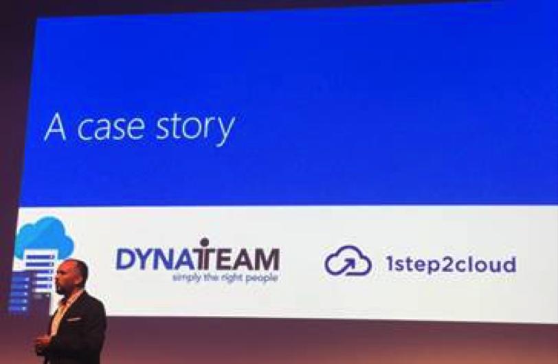 Kurt Juvyns, Senior Product Marketing Manager/Microsoft Dynamics, greiðir fráum Dynateam í Føroyum
