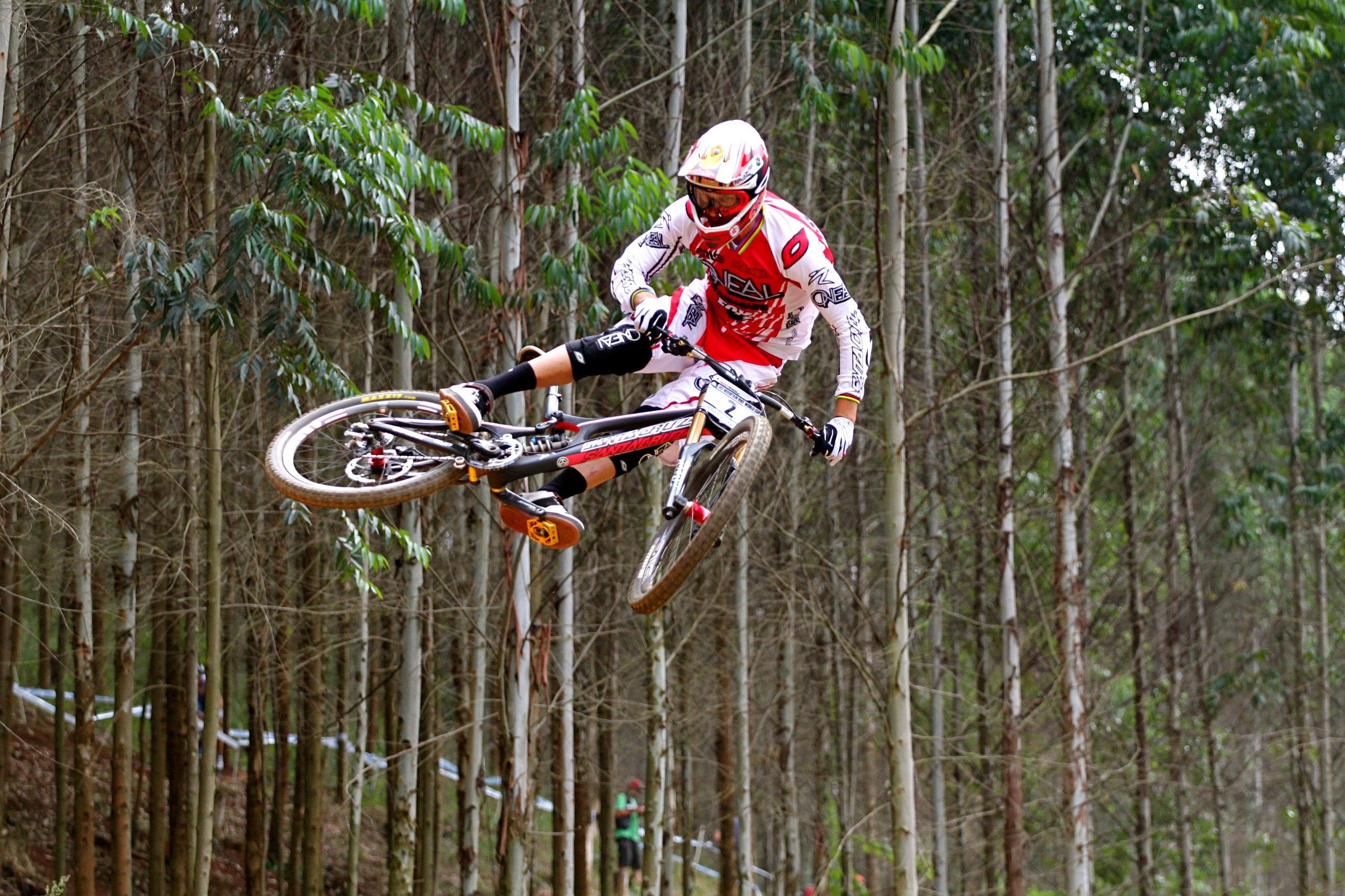 Greg Minnaar -  Professional downhill mountain biker