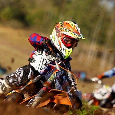 Cameron Durow -  This motor cross star is   one of our youngest athletes