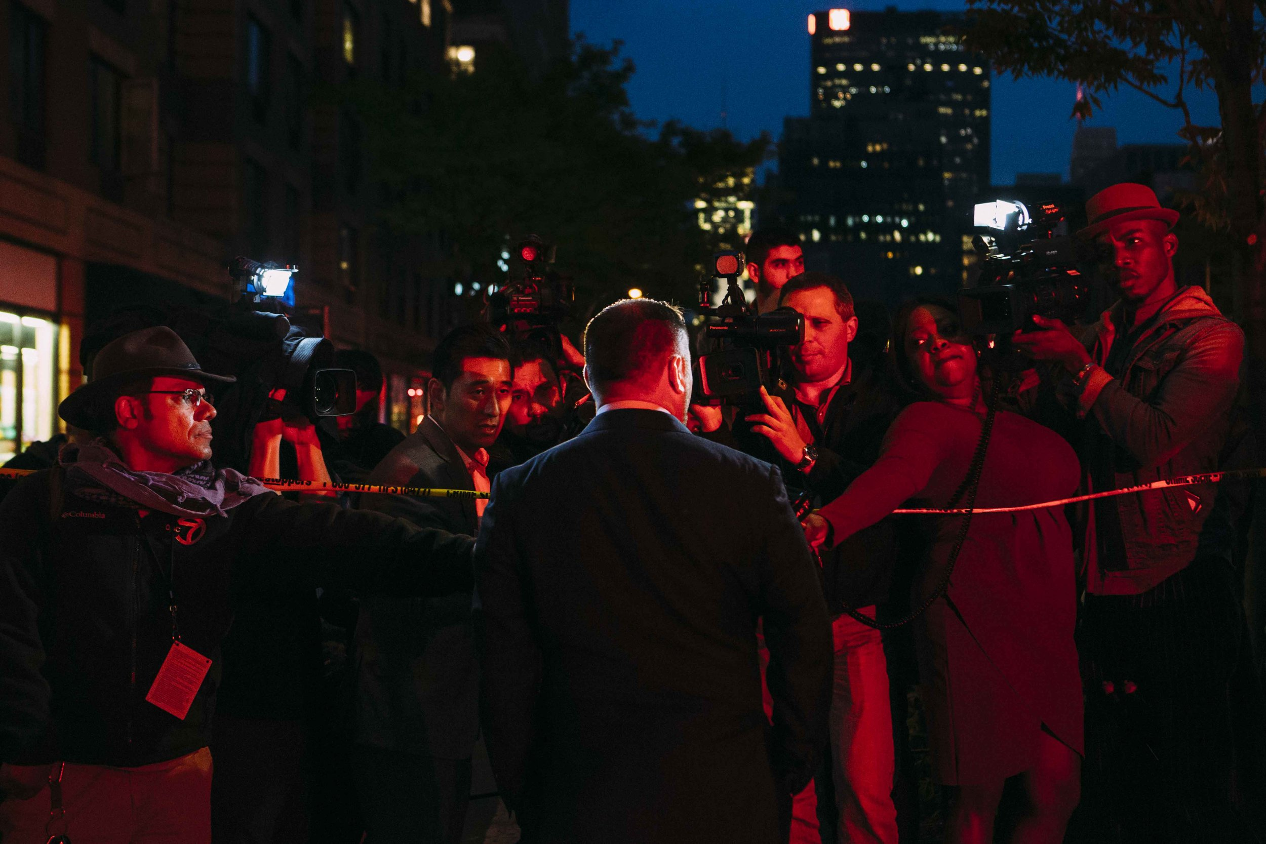 05-10-18 - Speaker Corey Johnson visits car carsh scene in Chelsea - Credit Emil Cohen_021.JPG