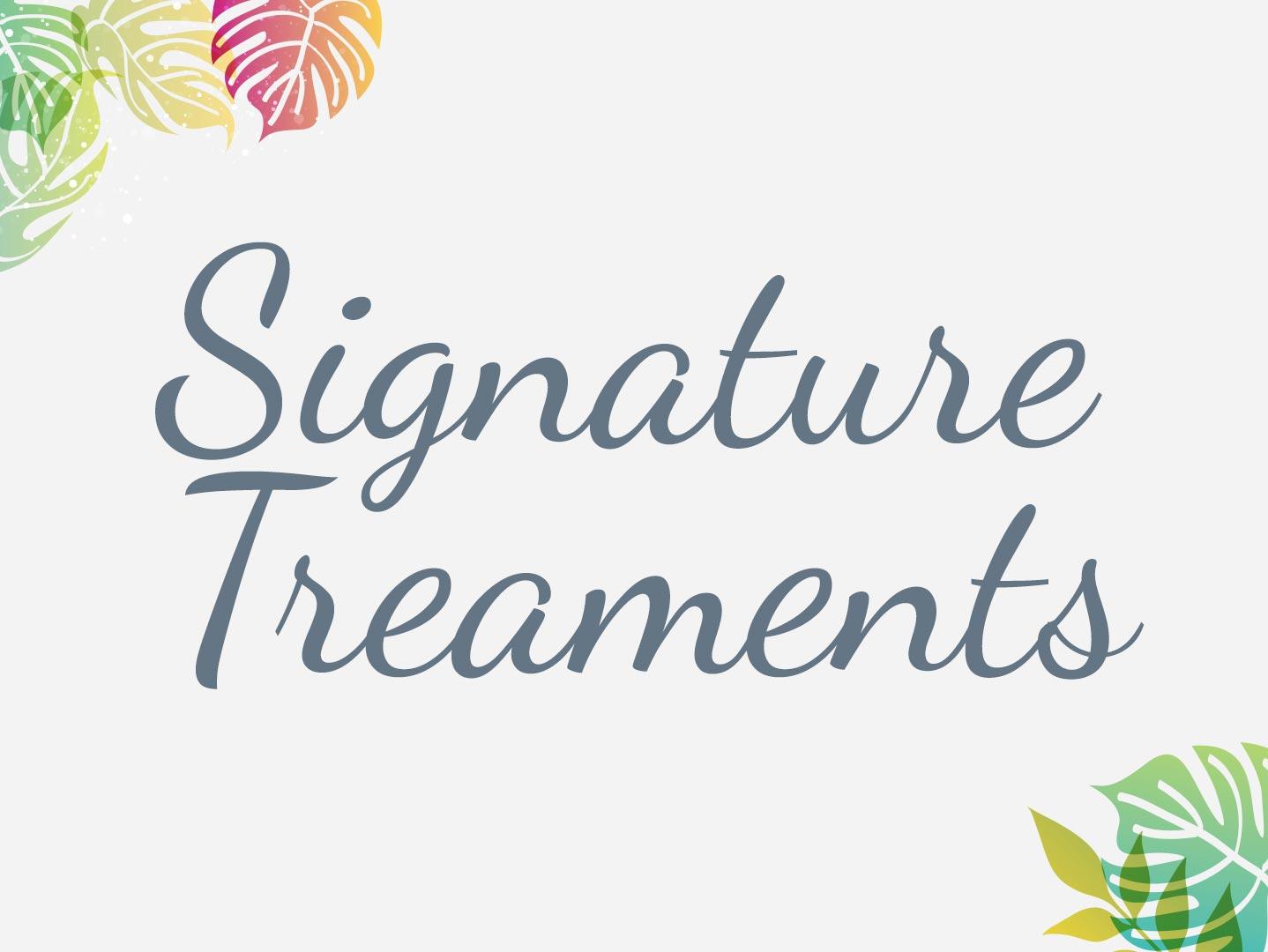 Skin Mia Signature Treatments