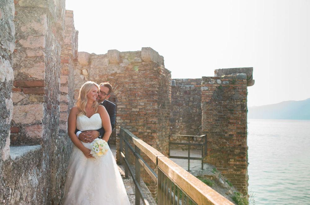 Wedding hair and makeup Lake Garda
