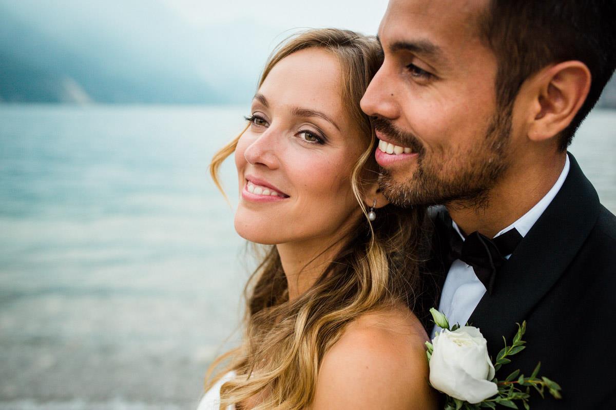 Wedding Hair and Makeup for Alina - Lake Garda