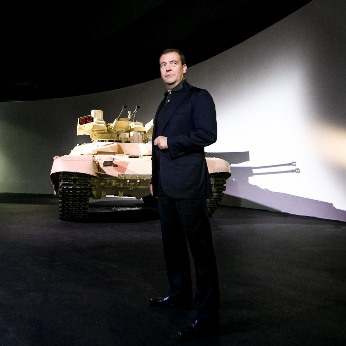 Dmitry Medvedev / UVZ