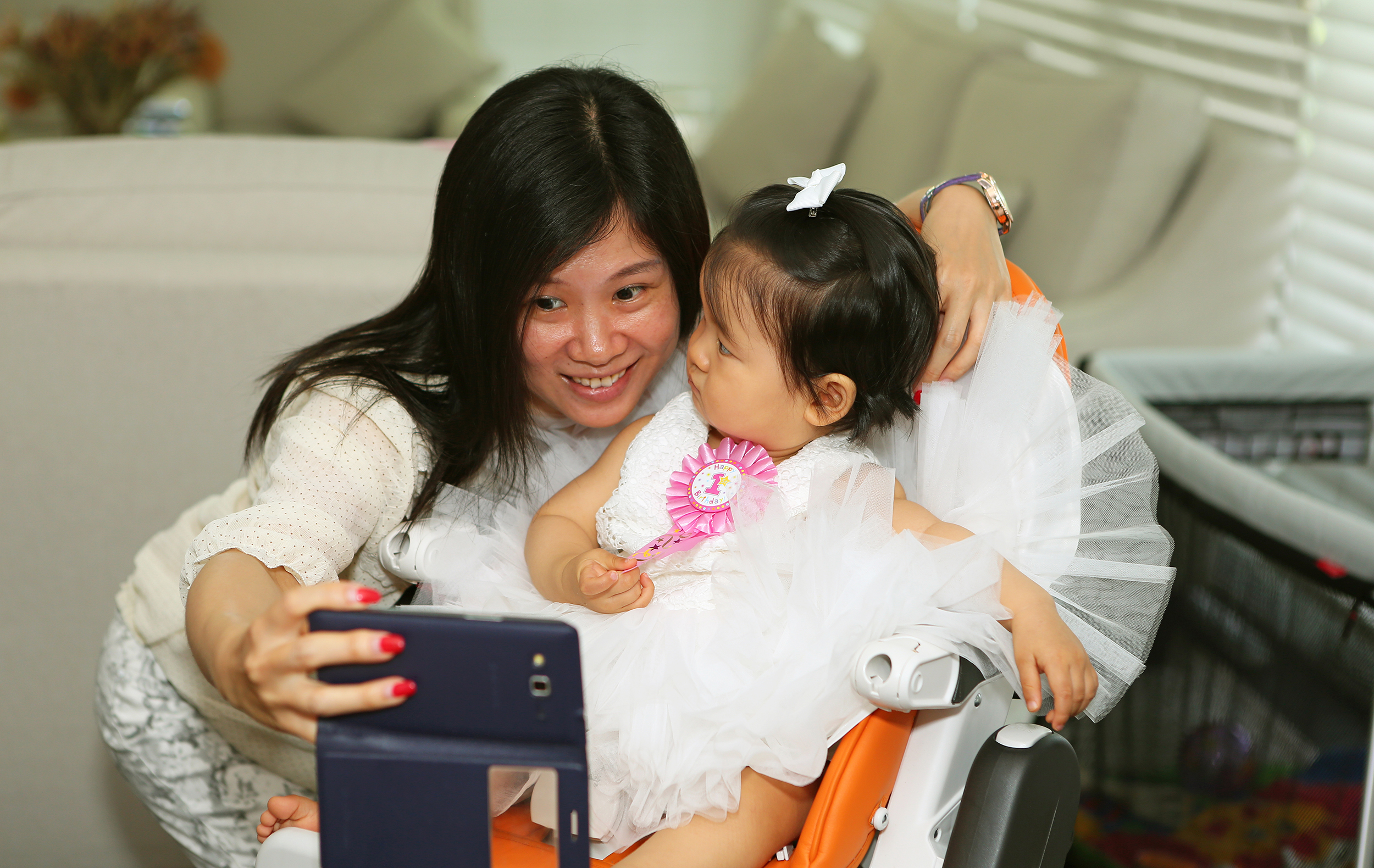 Chloe's 1st Birthday - By Jennifer Lam Photography (40).JPG