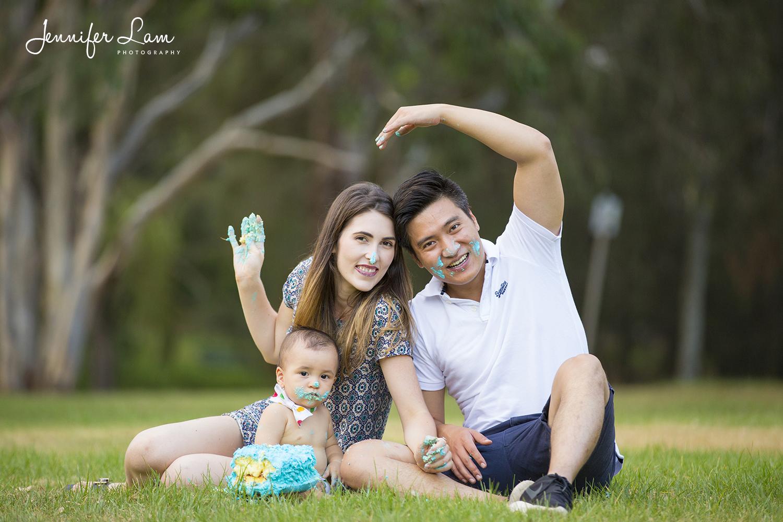 First Birthday - Sydney Family Portrait Photography - Jennifer Lam Photography (32).jpg