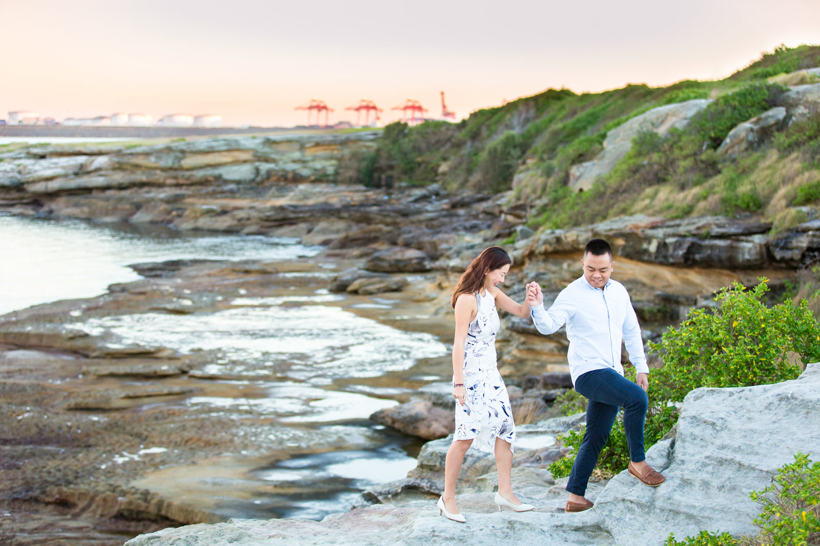 Sydney Engagement Pre-Wedding Photography Session - Jennifer Lam Photography - La Perouse (6).jpg