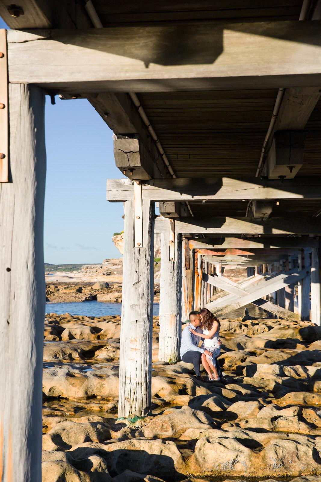 Sydney Engagement Pre-Wedding Photography Session - Jennifer Lam Photography - La Perouse (19).jpg