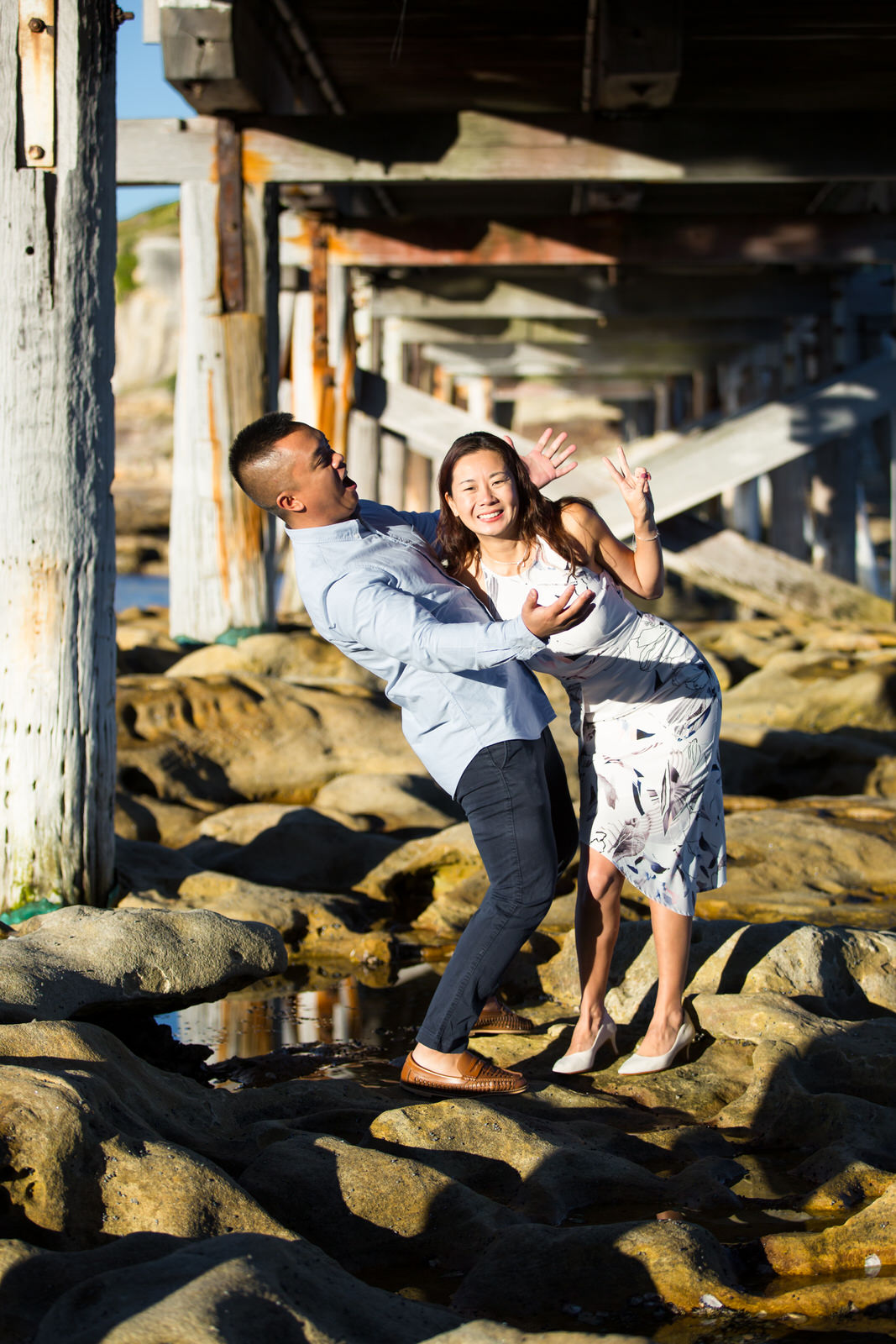 Sydney Engagement Pre-Wedding Photography Session - Jennifer Lam Photography - La Perouse (20).jpg