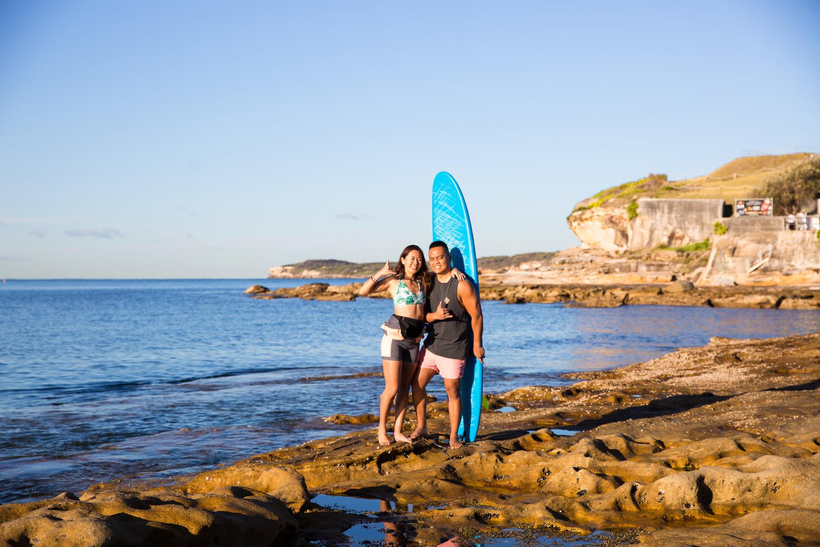 Sydney Engagement Pre-Wedding Photography Session - Jennifer Lam Photography - La Perouse (28).jpg