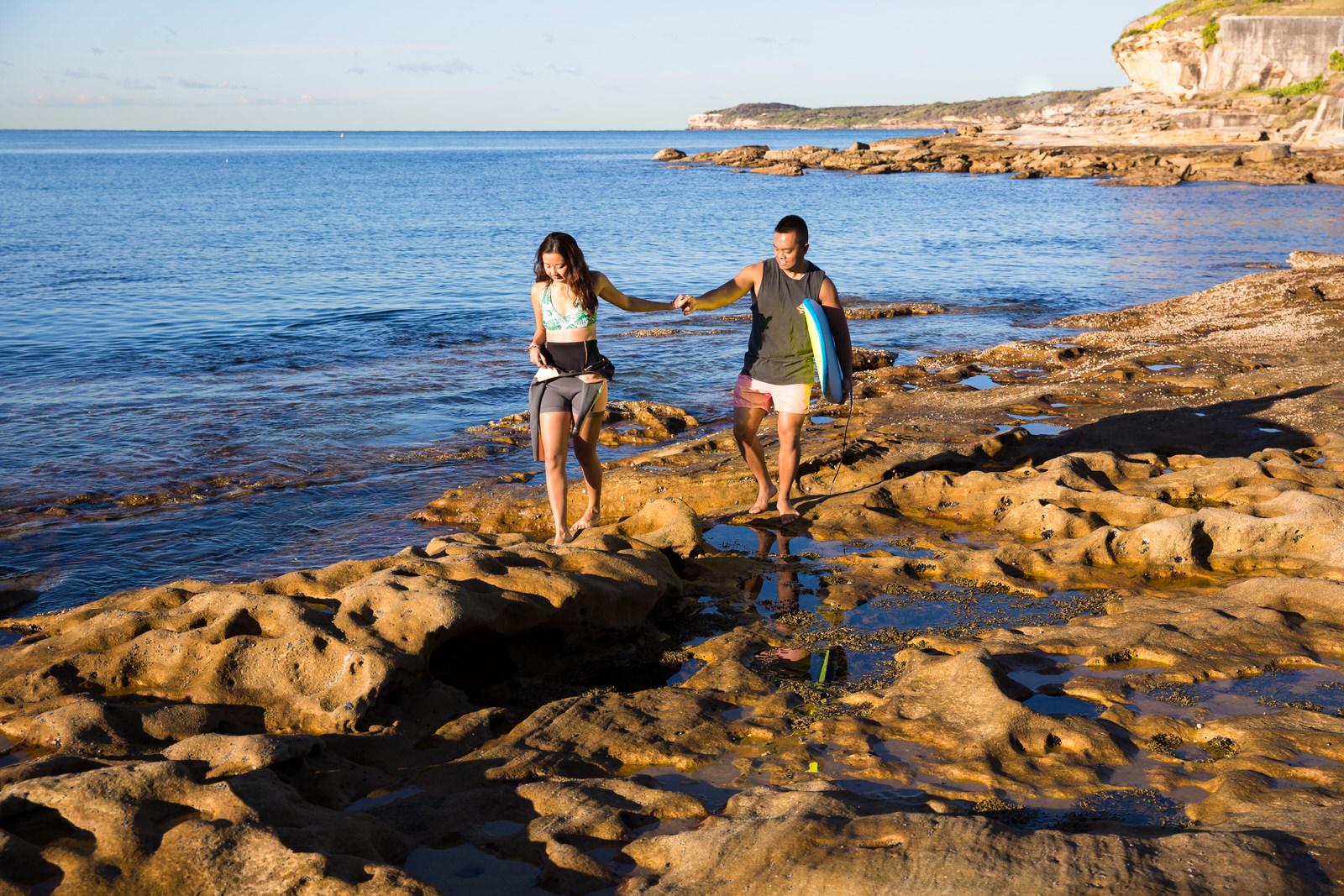 Sydney Engagement Pre-Wedding Photography Session - Jennifer Lam Photography - La Perouse (30).jpg