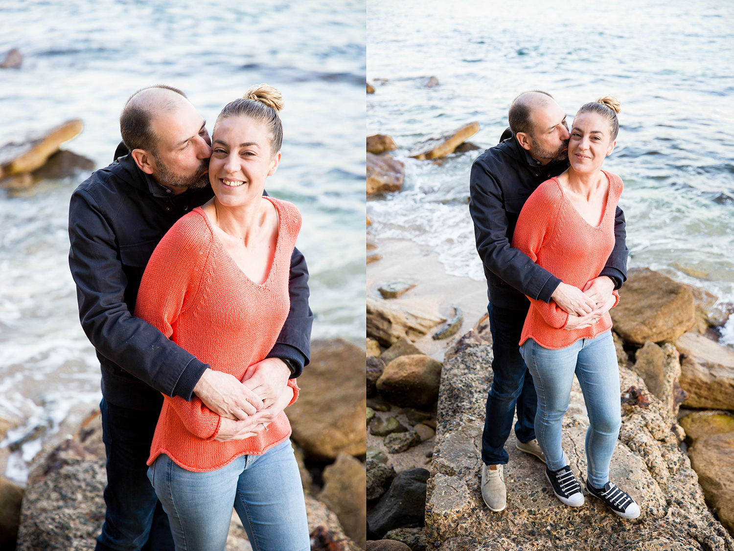 Sydney Pre-Wedding Photo Session - Shelly Beach Manly - Jennifer Lam Photography (4).jpg
