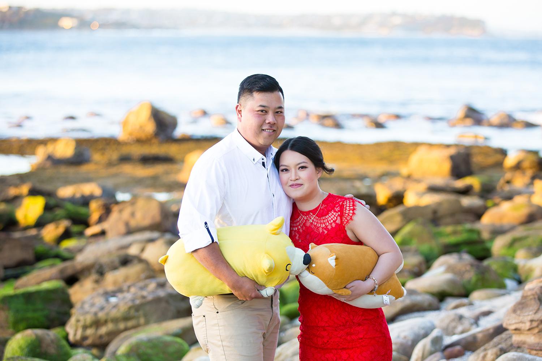 Shelly Beach Manly Pre-Wedding Engagement Session - jennifer Lam Photography (19).jpg