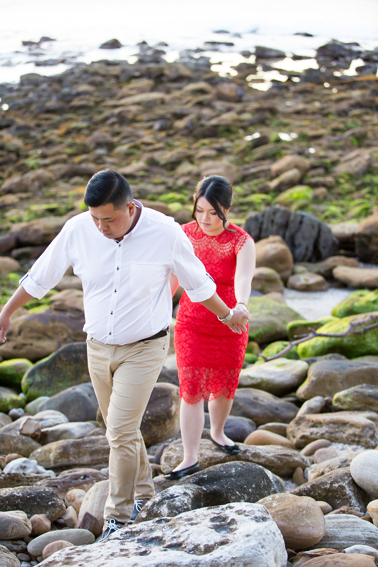 Shelly Beach Manly Pre-Wedding Engagement Session - jennifer Lam Photography (23).jpg
