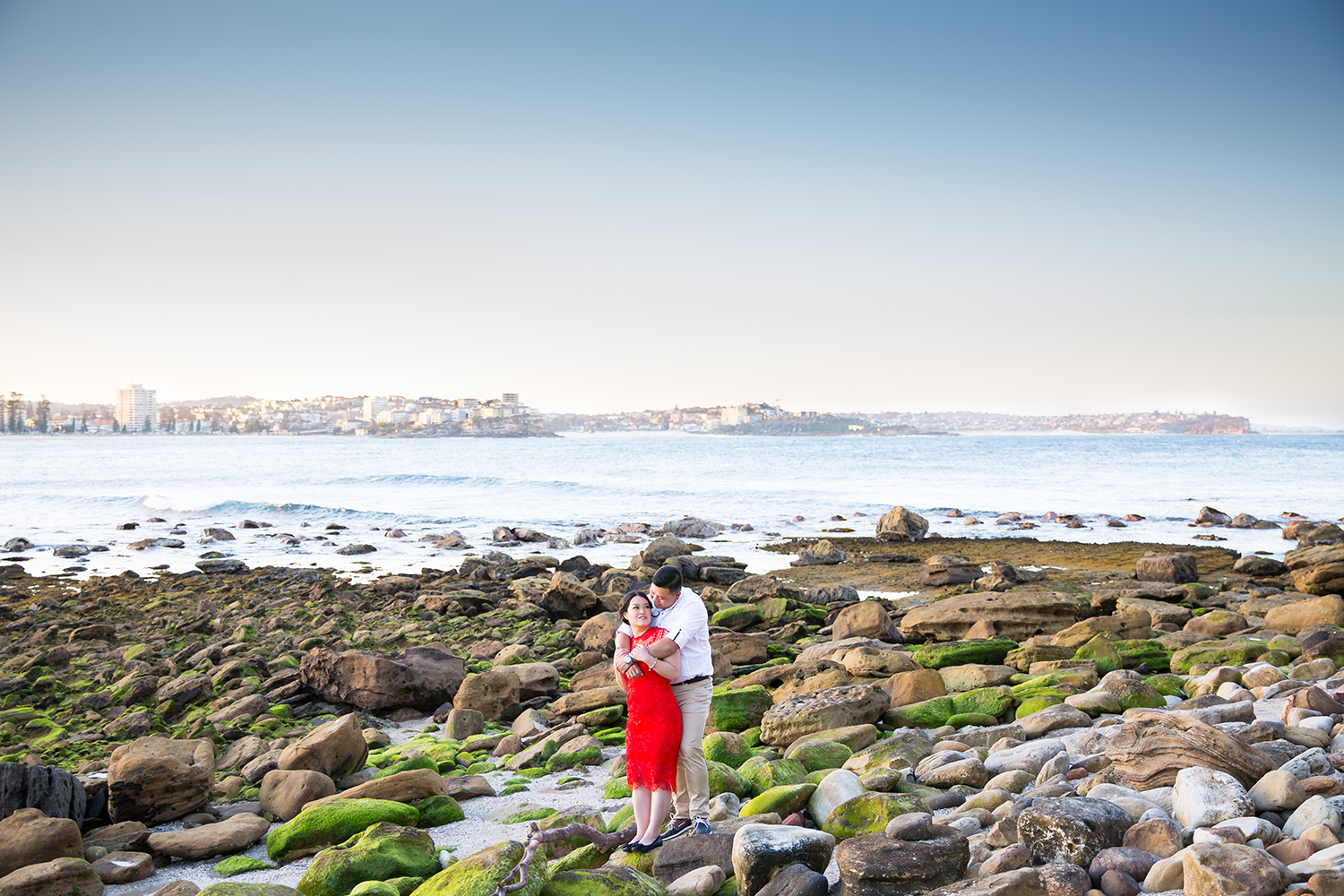 Shelly Beach Manly Pre-Wedding Engagement Session - jennifer Lam Photography (28).jpg