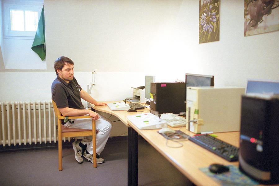 Neuropsychologie-Therapeut Herr Mies.
