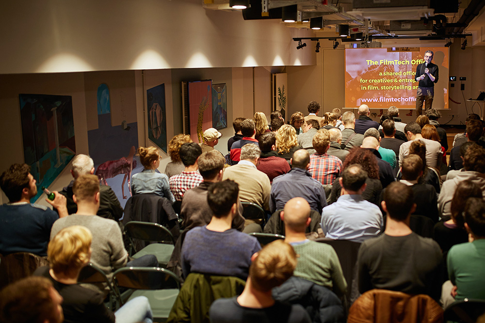 01 2018 - TheFilmTechOffice event at Mindspace, Berlin.
