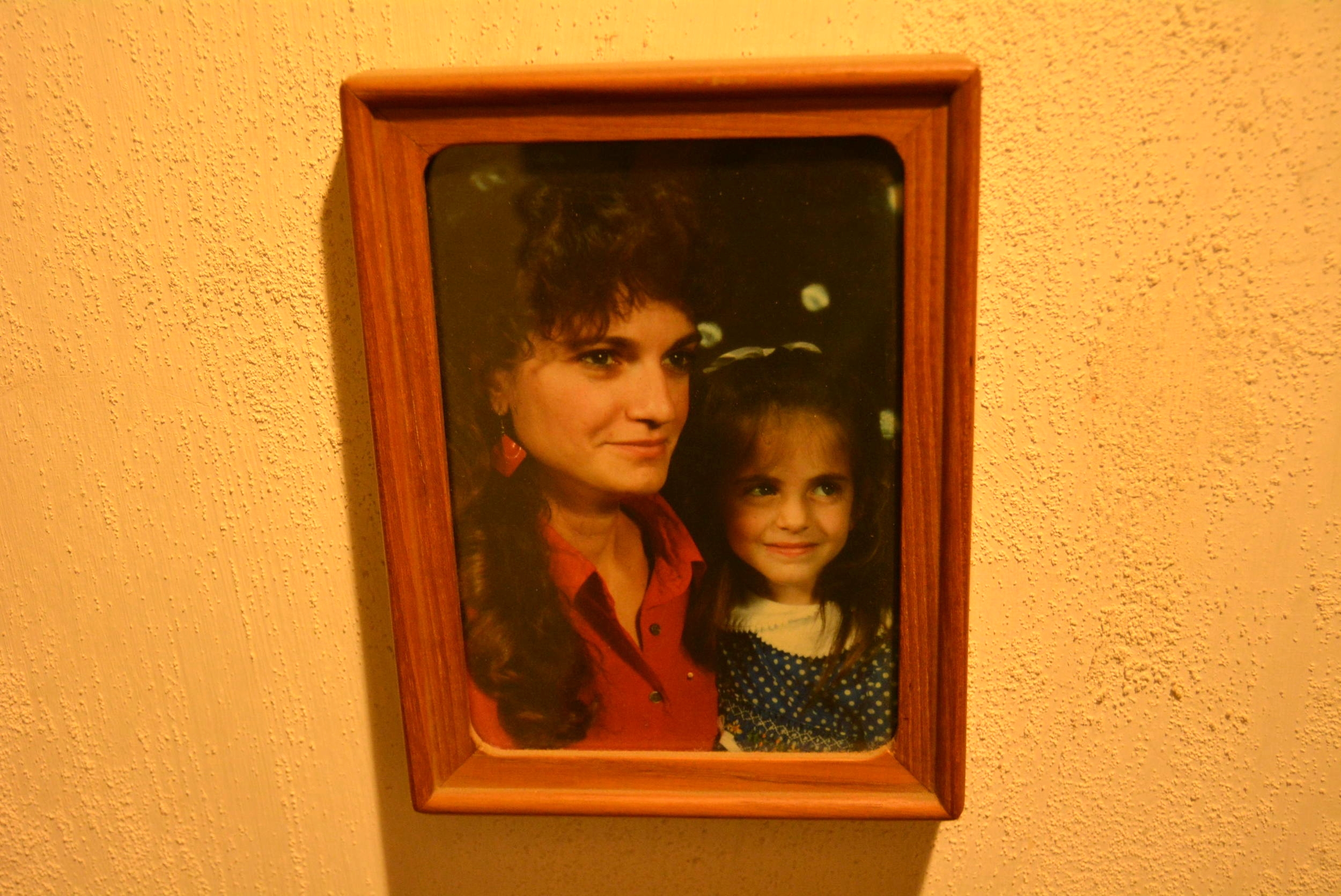 One of my favorite pictures of my mom and me.