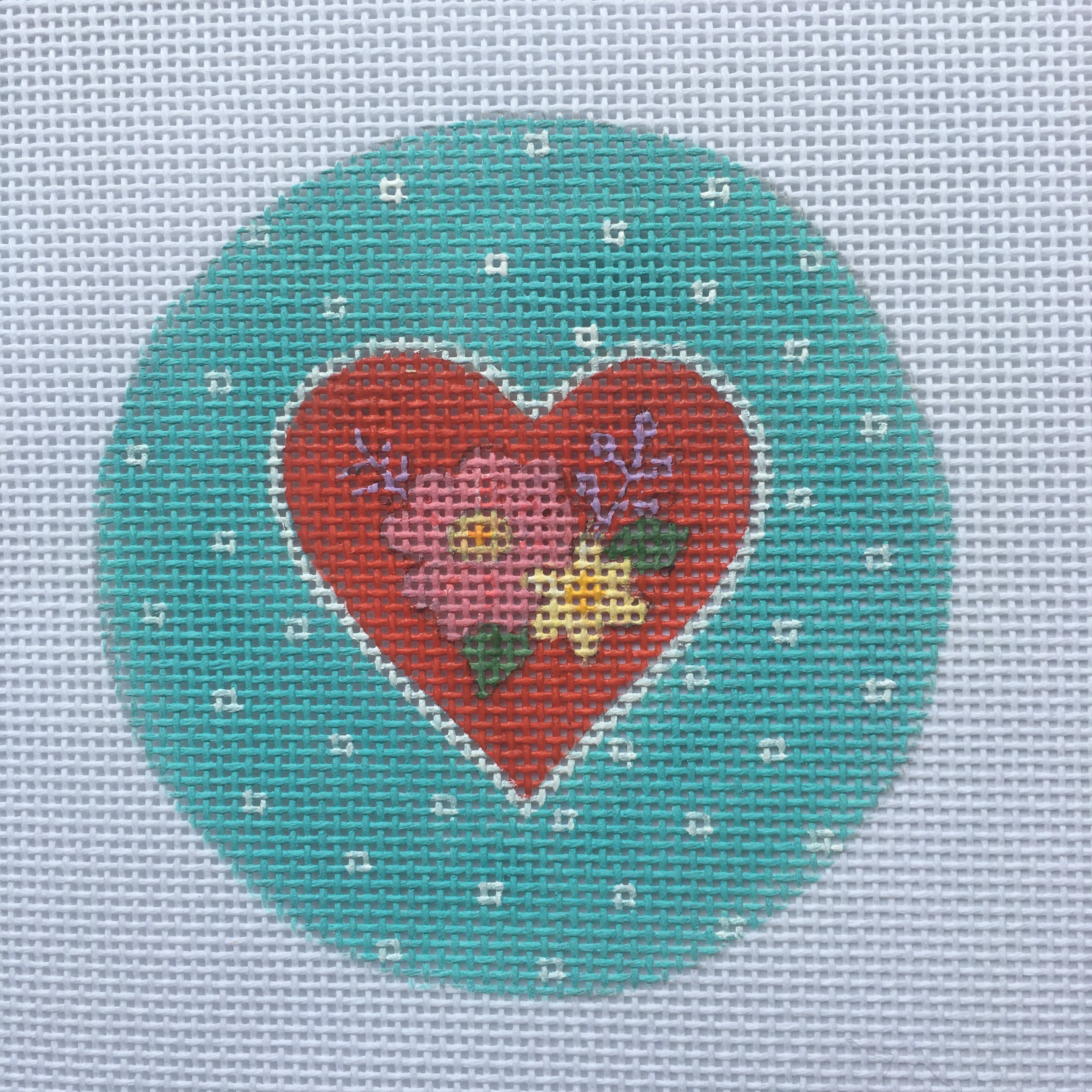 PSW H09 Floral Heart