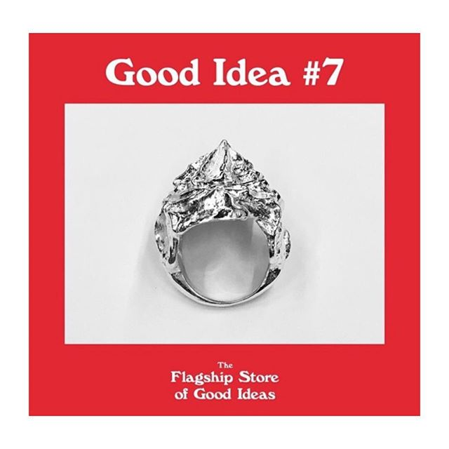 Happy to be a part of December pop up shop The Flagship store of Good Ideas by @loveyoungart and @weareaffairs presenting 24 good ideas, my melting meringue ring #7 Go check it out at Karlavägen 5 ❤️