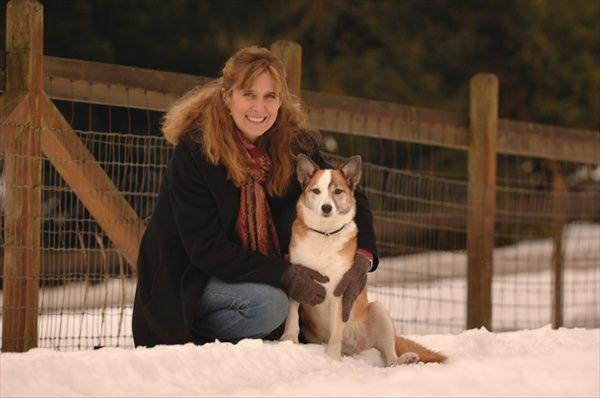 Scotti and Denali, Christmas 2008.jpg