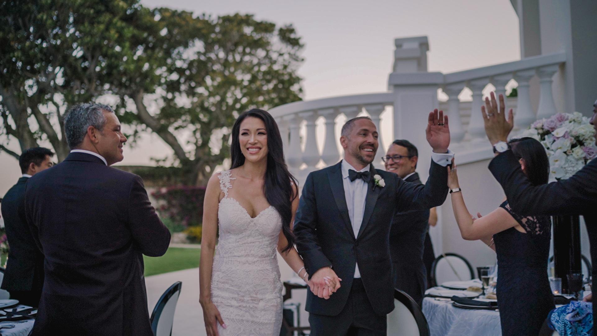 diner entrance , cap estel luxury wedding