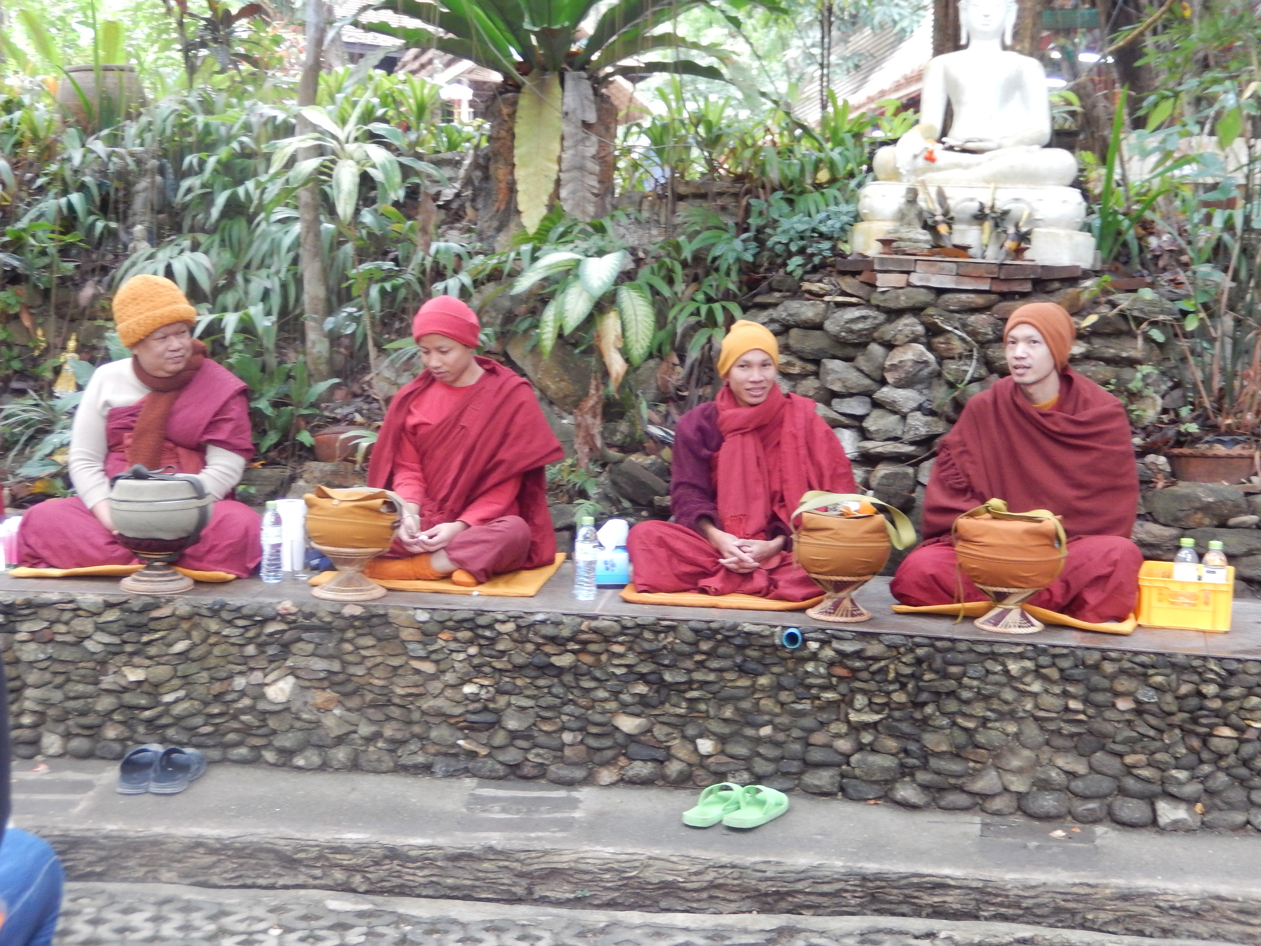 Wat Phalad monks