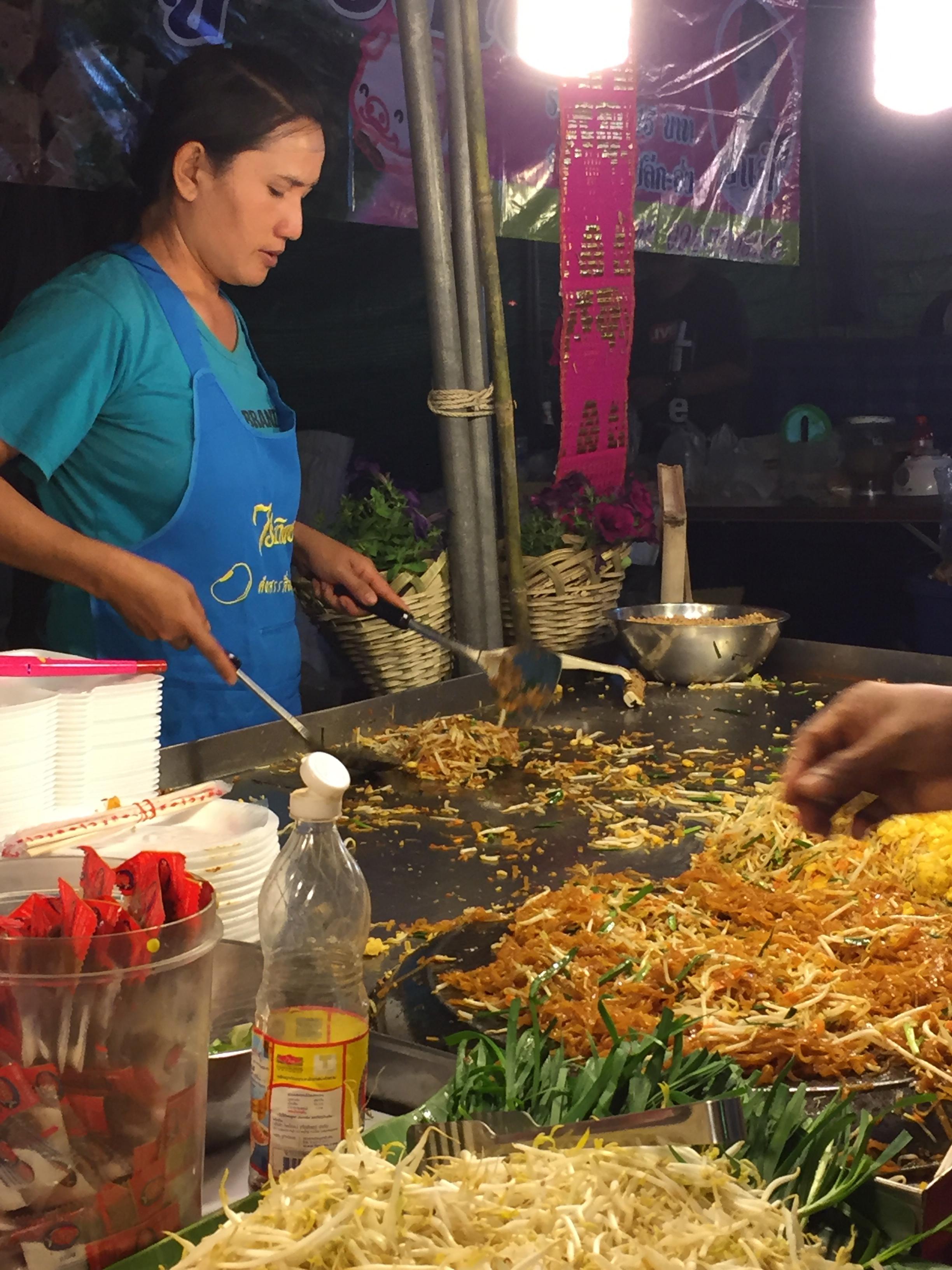 Flower Festival noodles.....