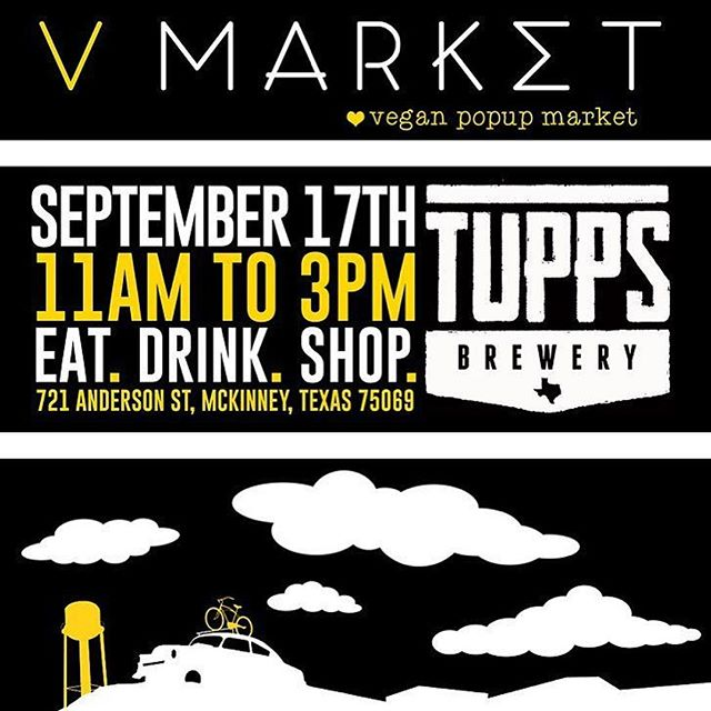 Join us tomorrow 9/17 @vmarketdallas in McKinney, TX! We will be there vending from 11-3 🌱🤗 Hope to see you all tomorrow!  #Repost @vmarketdallas ・・・ Remember, this market will be our LAST *FULL* market of the year, so come and see us and stock up on some vegan goodies! Drink cold beer from @tupps_brewery, nosh on eats from @downtoearthdfw, @el.palote, and @reveriebakeshop. Buy vegan groceries from @plantbasedgrocery, artisan vegan cheese from @thegoatsrevolt, chocolates from @cocoandre_chocolatier! Plus, step up your fashion game with vendors like @cykochik and our sponsor @opportunity_market while being kind to both people and animals! There's so much more, we can't fit it all in one post! 😜 Here's to next weekend! 🍻