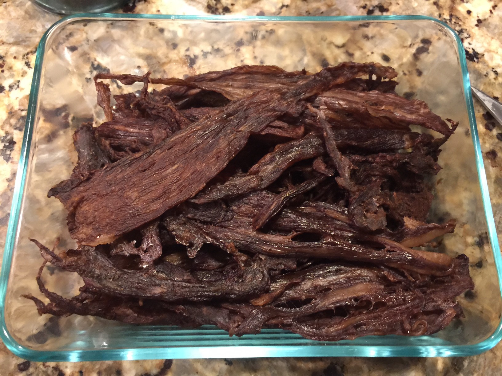 I so love making jerky, and its delish (and no sugar!).