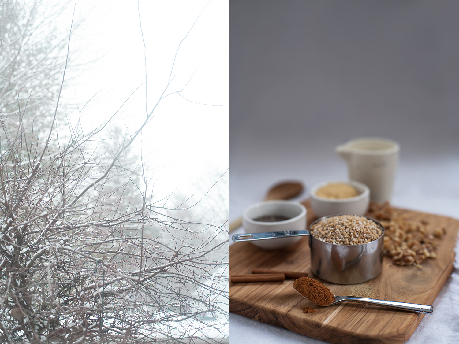 That Michigan Moment, Steel Cut Oats, by Dena Robles, Michigan food styling and photographer