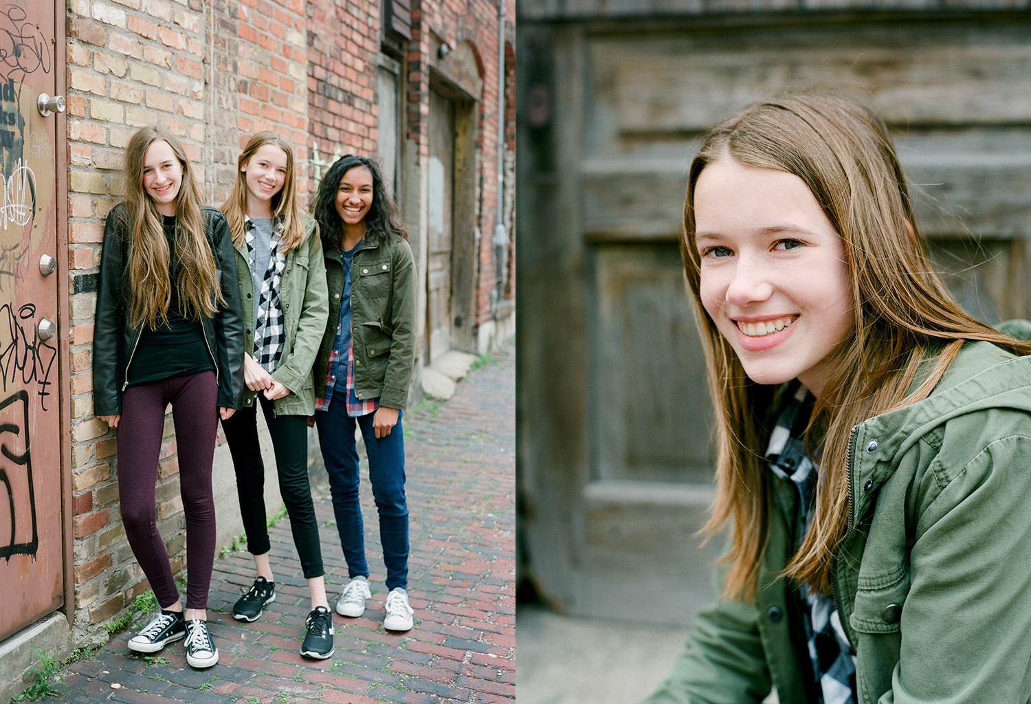 Best Friends Teenager photo sessions in grand rapids michigan