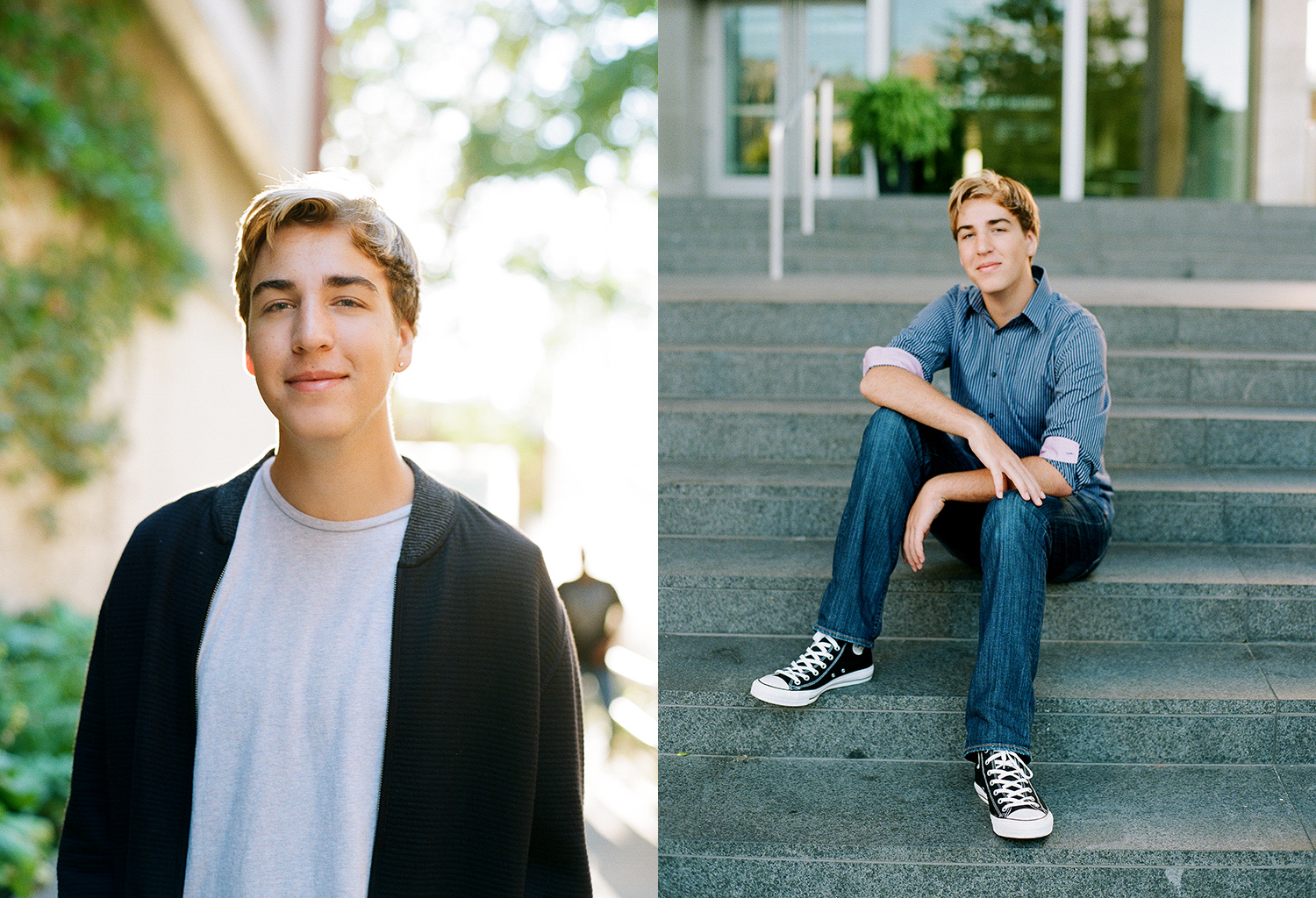 East Grand Rapids High School senior portrait photographer