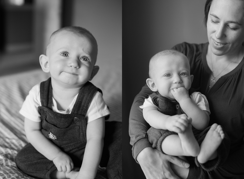 Lifestyle baby portraits