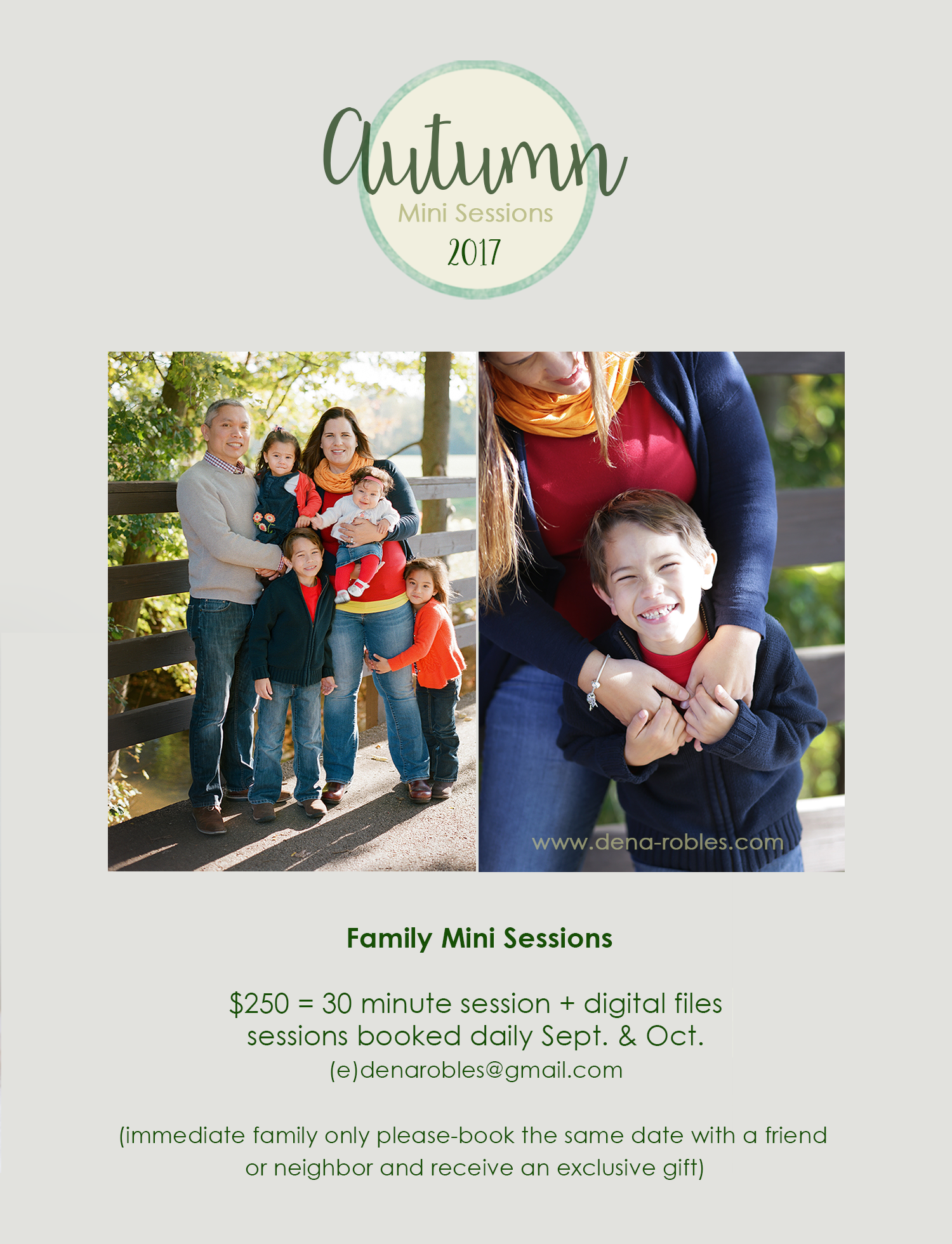 Grand Rapids family mini sessions