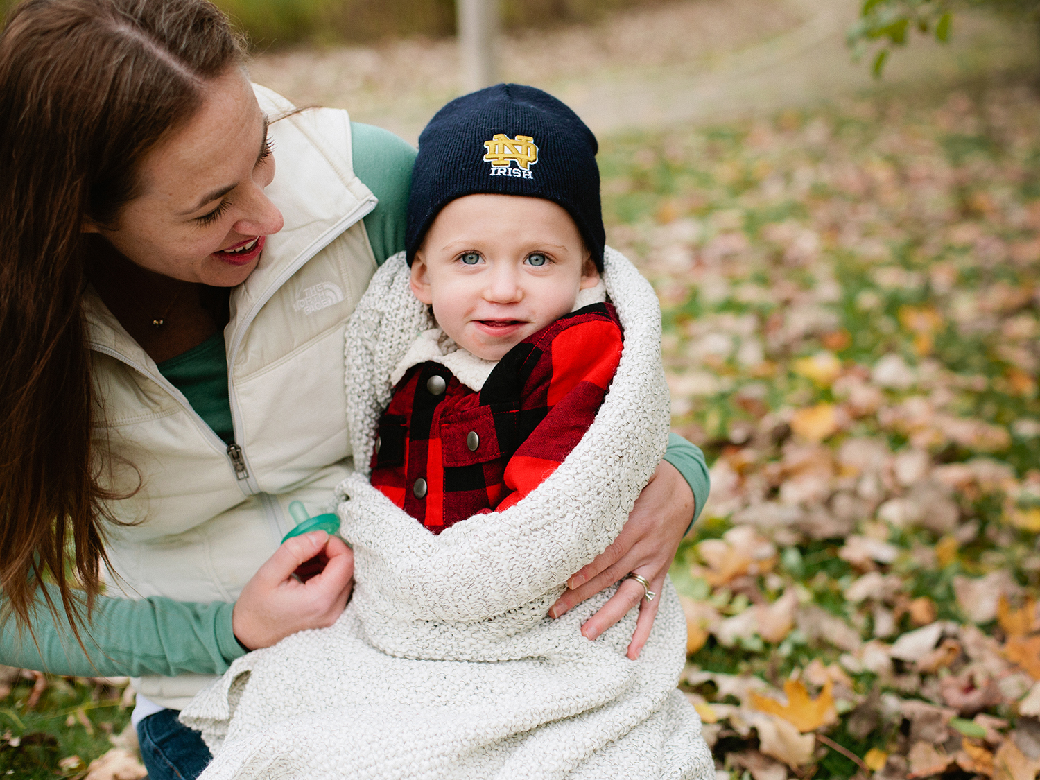 Fall and Winter portrait sessions for families