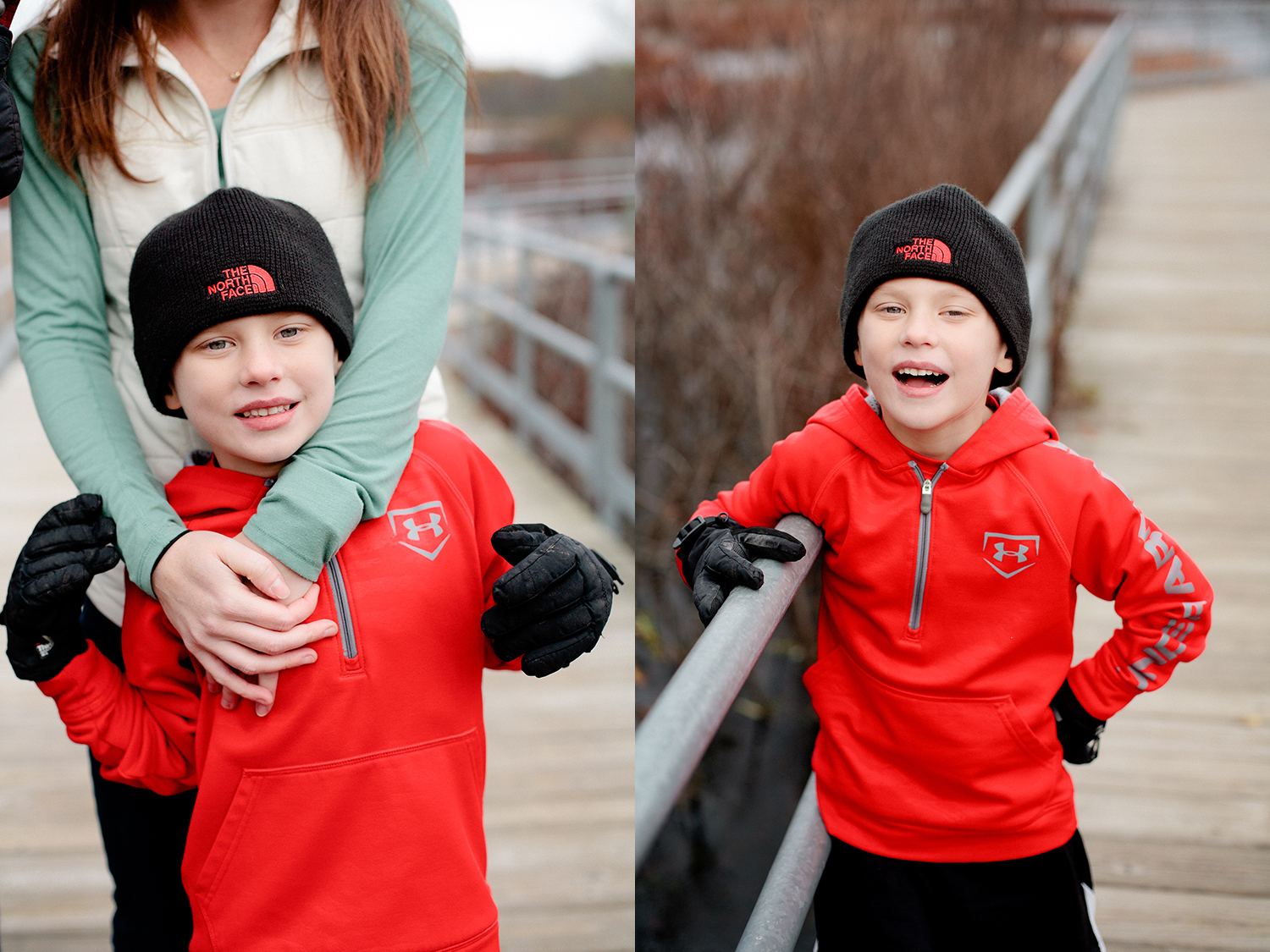 East Grand Rapids portrait sessions in winter