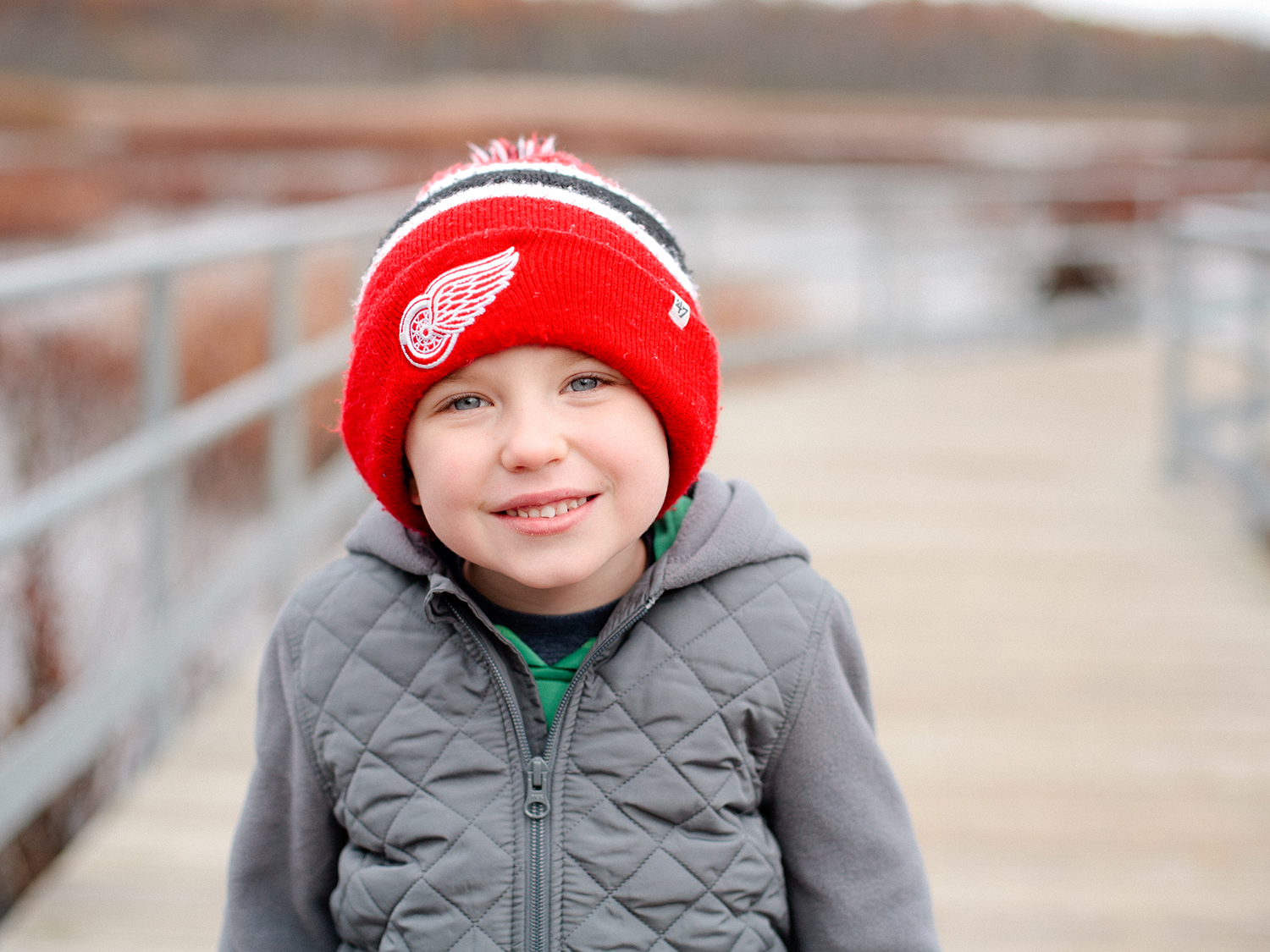 Grand Rapids winter portraits